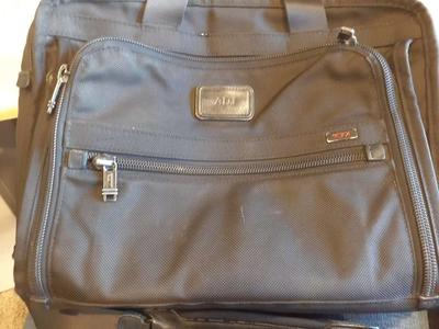 Tumi briefcase business bag t pass laptop system