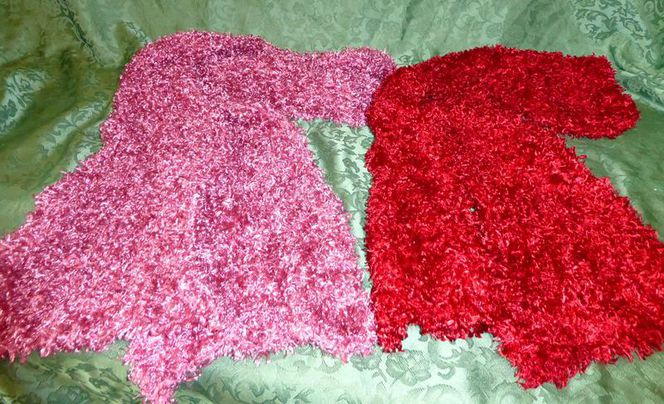 Two Beautiful Women's Neck Scarves Red OR Pink for sale in Taylorsville , UT