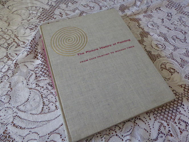 Vintage Art & History Book'The Picture History Of Painting From Cave Painting To Modern Times' . 1957- Fun Coffee Table Book for sale in Taylorsville , UT