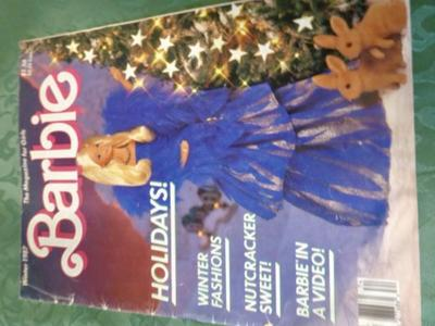 Collectible Winter 1987 Barbie Magazine