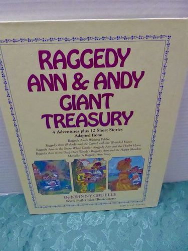 3 Raggedy Ann & Andy Children's Books Lot New Condition for sale in Taylorsville , UT