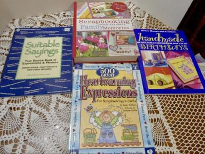 Scrapbooking, Card & Cake Making Ideas Books, etc…