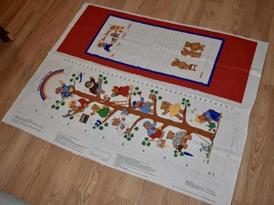 Child's Growth Chart Fabric Panel To Make