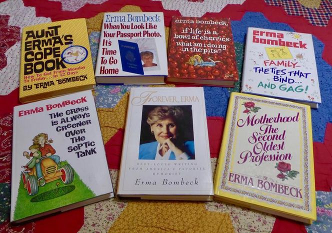 Set/Lot Of 7 Really Great & Fun Erma Bombeck Books for sale in Taylorsville , UT