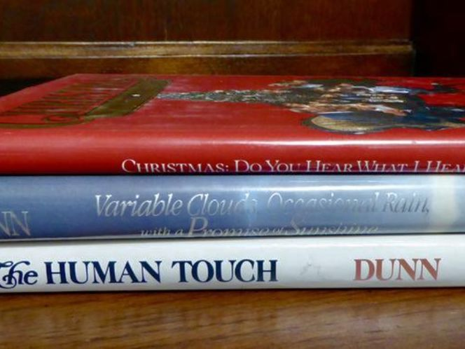 3 Really Great Inspirational Books By Paul H Dunn Variable Clouds - Occasional Rain, The Human Touch, Christmas Do You Hear.. for sale in Taylorsville , UT