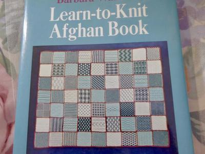 Barbara Walker's Learn to Knit Afghan Book With So Many Techniques