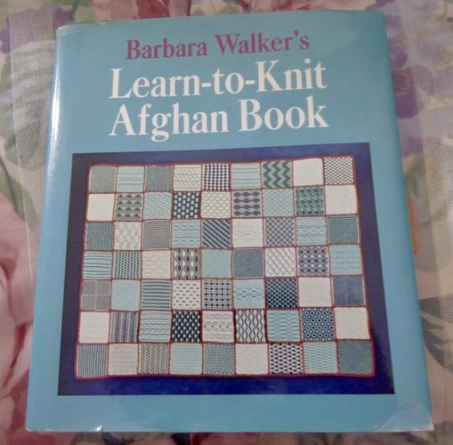 Barbara Walker's Learn to Knit Afghan Book With So Many Techniques for sale in Taylorsville , UT