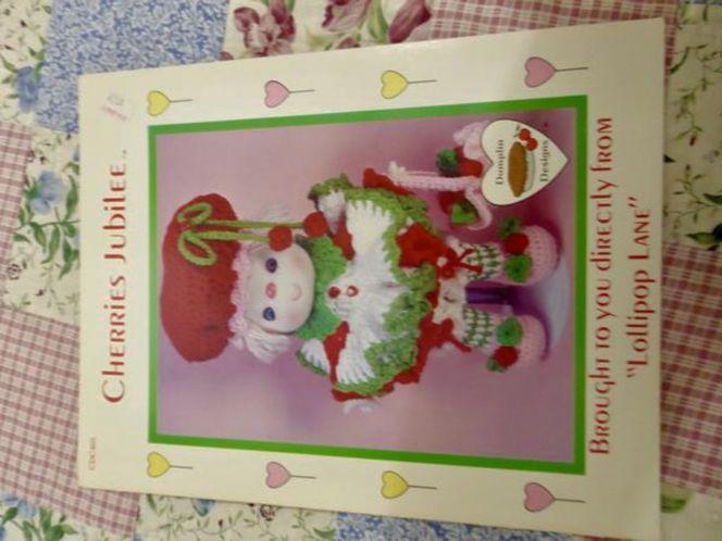 4 Crochet Strawberry Shortcake Type Doll Patterns To Make- 'Lollipop Lane- Dumplin Designs' for sale in Taylorsville , UT