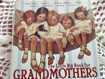 The Little Big Book For Grandmothers Hardback Book In New Condition