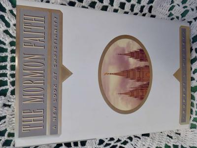The Mormon Faith A New Look At Christianity By Robert L. Millet- Hardback Book With 222 Pages