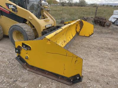 Artic Sectional Snow Pusher / Plow.