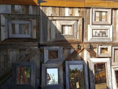Barnwood Frames and Mirrors