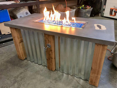 Outdoor Patio Fire Place
