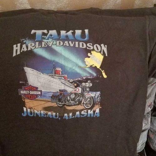 Official Harley Davidson T-shirt from Juneau Alask for sale in Salt Lake City , UT