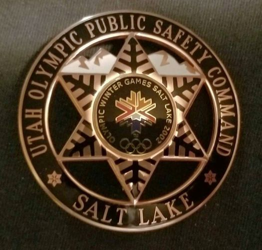 2002 SLC Olympics safety badge  for sale in Salt Lake City , UT
