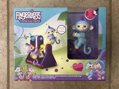 Fingerlings Teeter Totter W/Milly & Willy!