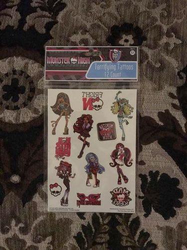 Monster High Terrifying Tattoos 12 Count!  for sale in South Jordan , UT