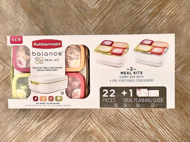 Rubbermaid Balance Meal Kits! 2! See Details! for sale in South Jordan , UT
