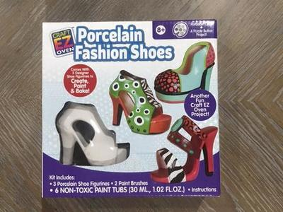 Porcelain Fashion Shoes! Brand New!