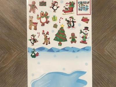 Christmas Wall Decor! 21 Pieces! Brand New!
