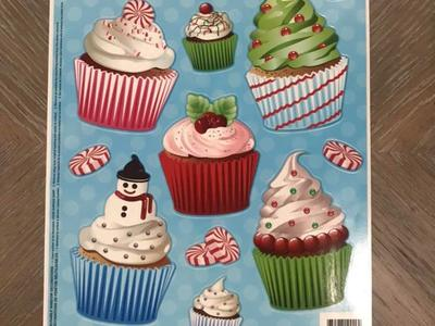 Christmas Window Clings! 11 PC! 4 Available!