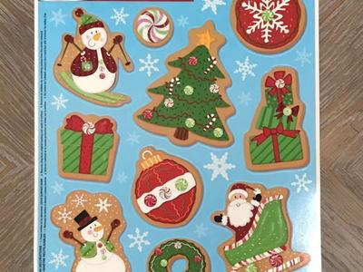 Christmas Window Cling! 10 Piece! Brand New!