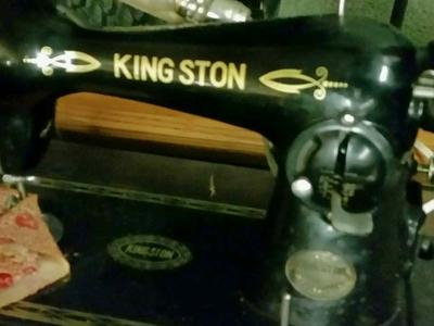 Singer-kingston sewing machine