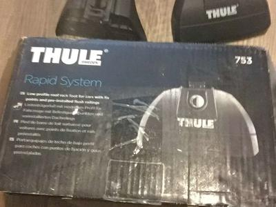 Thule rapid system 753 for cars with fixed points