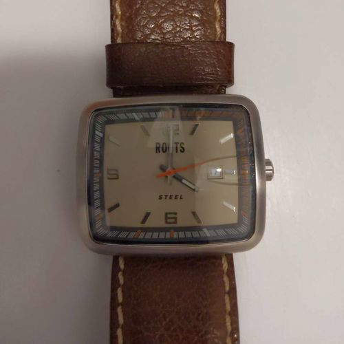 Roots Steel Watch with Genuine Leather Band for sale in Lehi , UT