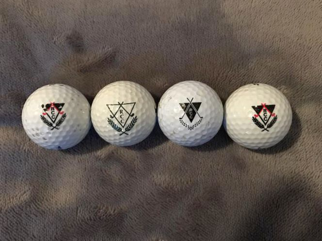 Riverside Country Club's (old Logo) Golf Balls for sale in Springville , UT