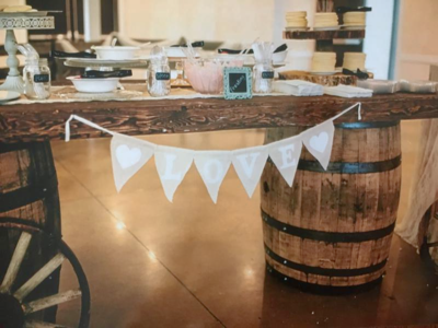 Whiskey Barrels, Wine Barrels, Wedding Bar