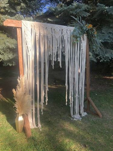 Pampass Grass, Macrame, Cheesecloth Table Runners  for sale in Ogden , UT