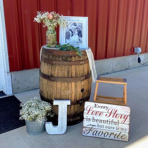 Rustic Wedding Decorations, Country Wedding Rental for sale in Ogden , UT