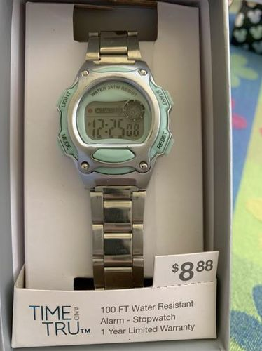 Digital Wrist Watch Metal Band Like New Condition  for sale in Salt Lake City , UT
