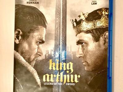 King Arthur Legend Of The Sword Blu-Ray DVDs