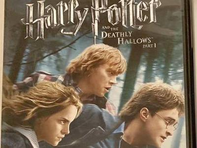 Harry Potter And The Deathly Hallows Part 1 DVD's