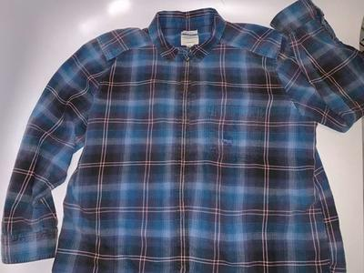 American Eagle Destroyed Button Up Shirt XL