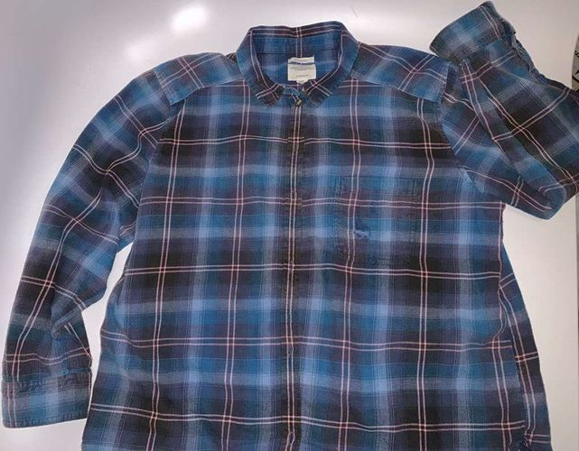 American Eagle Destroyed Button Up Shirt XL for sale in Salt Lake City , UT