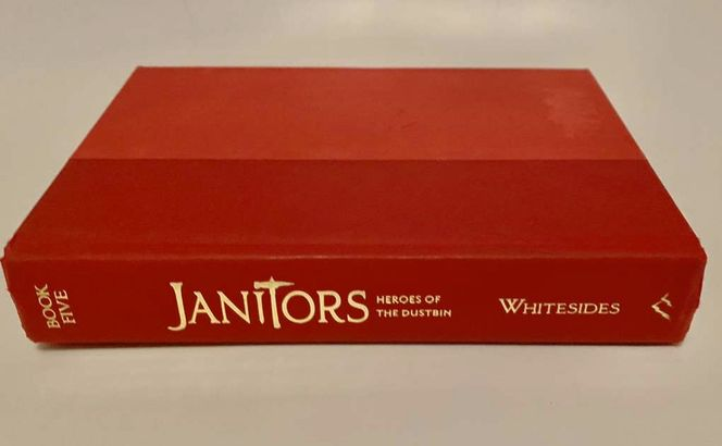 Janitors -Heroes Of The Dustbin Book 5 Hardcover  for sale in Salt Lake City , UT