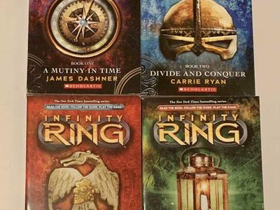 Infinity Ring Books 1 Through 4
