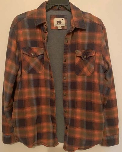 Dakota Grizzly Snap Frnt Therml Shirt Jacket Large for sale in Salt Lake City , UT