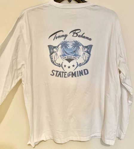 Tommy Bahama Relax Long Sleeve T-Shirt Bone White for sale in Salt Lake City , UT