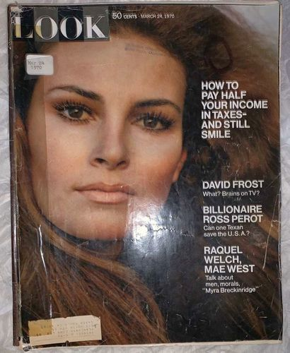 Look Magazine Vntg March 24th Issue 1970 Complete for sale in Salt Lake City , UT