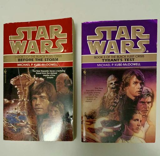 Star Wars -Before The Storm & Tyrants Test for sale in Salt Lake City , UT