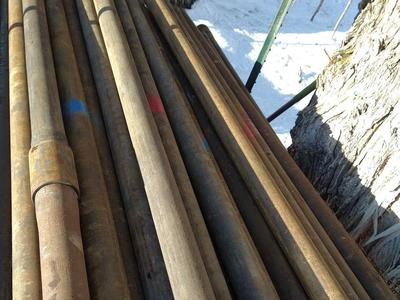 Drill pipe posts/ fencing