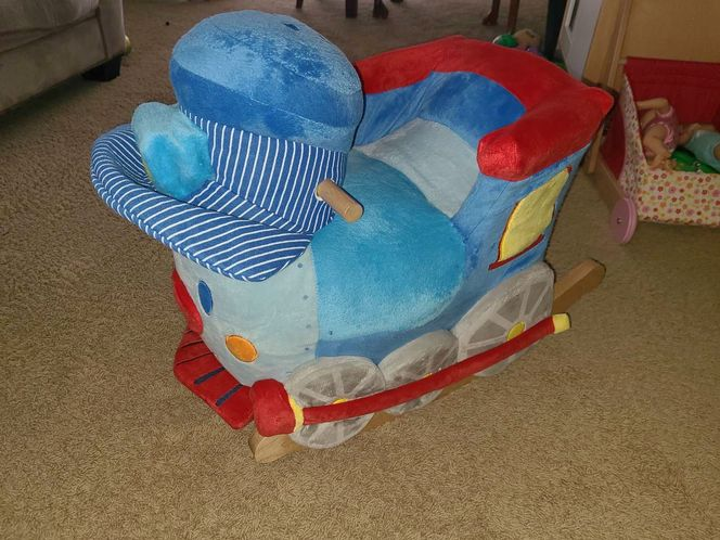 Like New RockAbye Infant And Toddler Rocking Train for sale in Stansbury Park , UT