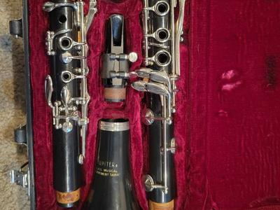 Jupiter clarinet with warranty