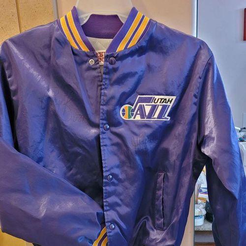 Signed Jazz vintage bomber jacket men's med for sale in Salt Lake City , UT