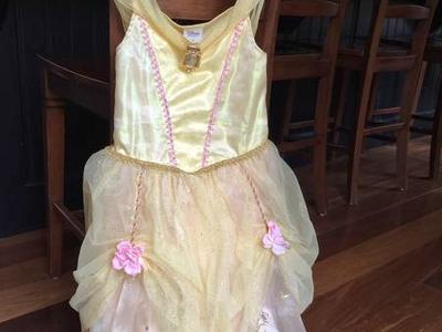 Disney Belle Costume Size 7/8