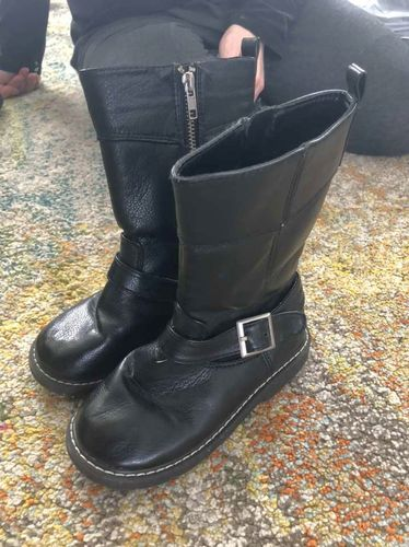 Girls Black Fashion Boots Size 12 for sale in Orem , UT